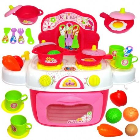 اسباب بازی ست آشپزخانه ژیونگ چنگ مدل Xiong Cheng Kids Kitchen 008-87A