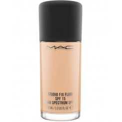 کرم پودر مک SPF 15 مدل MAC Studio Fix Fluid SPF15