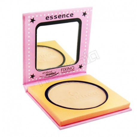 پنکیک صورتی اسنس Essence fixing compact powder pink