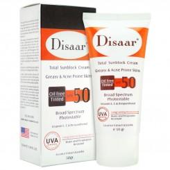 کرم ضد آفتاب دیسار برای پوست چرب و ضد آکنه Disaar SPF50
