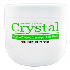 ماسک مو کریستال مناسب موهای رنگ شده و آسیب دیده Crystal Colored/damaged hair Mask 500ml
