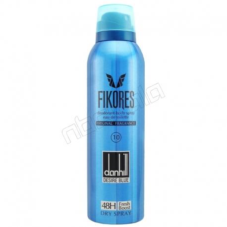 اسپری خوش بو کننده بدن فیکورس مردانه مدل اونتوس حجم 200 میلی لیتر Fikores Aventus Body Spray For Men