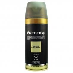 اسپری خوشبو کننده بدن پرستیژ مردانه 102 مدل تام فورد بلک ارکید حجم 150 میل Prestige Tom Ford Black Orchid Body Spray For Men