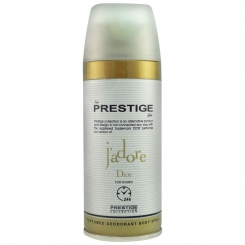 اسپری خوشبو کننده بدن پرستیژ زنانه شماره 208 مدل دیور جادور حجم 150 میلی لیتر Prestige Dior J'adore Body Spray For Women 150 ml