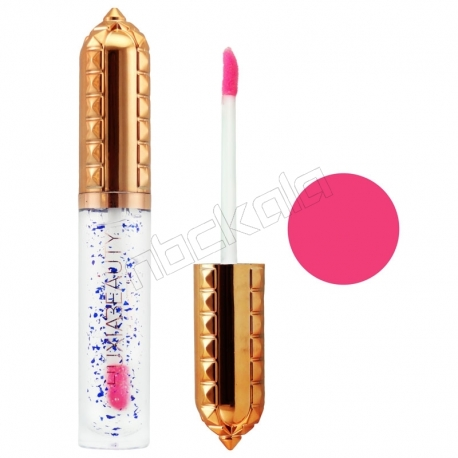 رژ لب مایع هوژیابیوتی براق سرخ آبی بادوام 5082 Huxiabeauty Lip Gloss Red 24 Hours