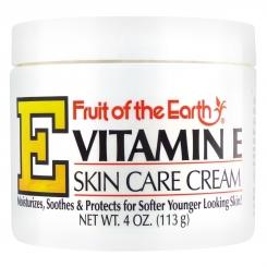 کرم دست و صورت ویتامین ایی مرطوب کننده و جوان کننده 113 گرمی Vitamin E Skin Care Cream