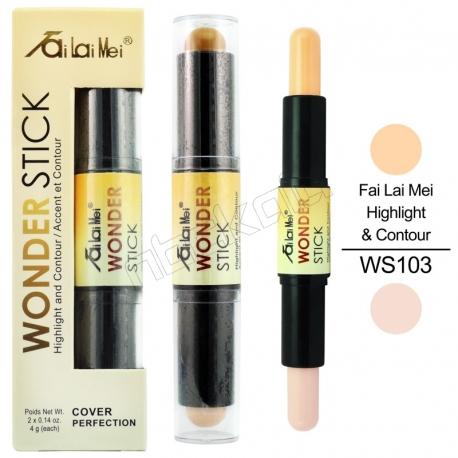کانتور و هایلایت پوست فای لای می مدل واندر استیک شماره 103 Fai Lai Mei Wonder Stick Highlight & Contour