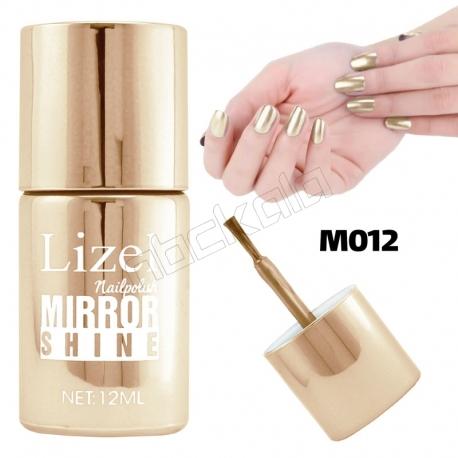 لاک ناخن آینه ای لیزل شماره 12 Lizel Nail Polish Mirror Shine 12 ml
