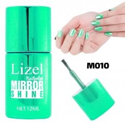 لاک ناخن آینه ای لیزل شماره 10 Lizel Nail Polish Mirror Shine 12 ml