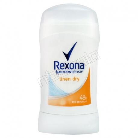 مام رکسونا صابونی مردانه زنانه لینن درای 48 ساعته بادوام Rexona Deodorant Linen Dry 40 ml