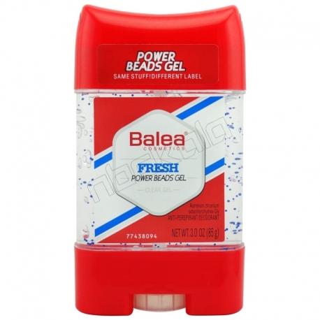 مام باله آ ژله ای دانه دار مردانه زنانه فرش پاور بیدز ژل Balea Deodorant Fresh Power Beads Gel 85 g