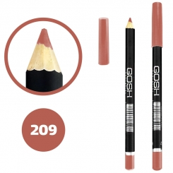 خط چشم خط لب گاش ضدآب شماره 209 Gosh Waterproof Eyeliner Lipliner Pencil