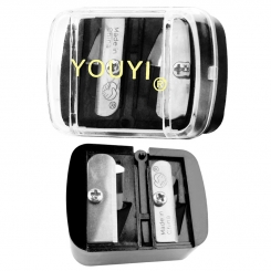 مداد تراش آرایشی یویی مدل دو تراشه سیاه YOUYI Makeup Pencil Sharpener