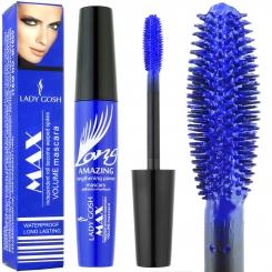 ریمل لیدی گاش مدل مکس سرژله ای رنگ سرمه ای و ضدآب Lady Gosh Max Volume Mascara M1600