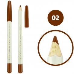 خط چشم خط لب فالورمور ضدآب شماره 02 Falormor Waterproof Eyeliner Lipliner Pencil