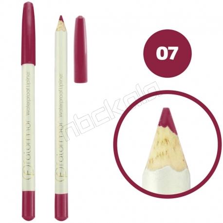 خط چشم خط لب فالورمور ضدآب شماره 07 Falormor Waterproof Eyeliner Lipliner Pencil