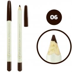 خط چشم خط لب فالورمور ضدآب شماره 06 Falormor Waterproof Eyeliner Lipliner Pencil