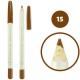 خط چشم خط لب فالورمور ضدآب شماره 15 Falormor Waterproof Eyeliner Lipliner Pencil
