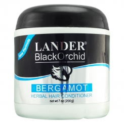 واکس موی لندر مدل ارکید سیاه Lander Black Orchid Bergamot Herbal Hair Conditioner 200 g