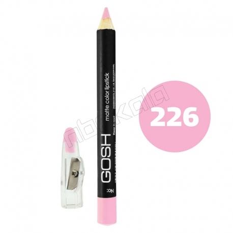 رژ لب مدادی گاش مدل مداد خط چشم و خط لب ضدآب شماره 226 Gosh Lip Liner & Eye Liner Waterproof Pencil