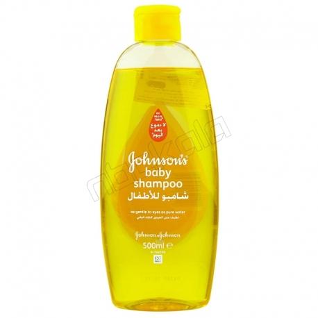 شامپو بچه جانسون حجم 500 میلی لیتر Johnson's baby shampoo