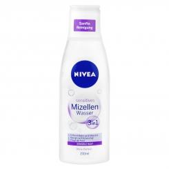 محلول پاک کننده آرایش صورت نیوآ مدل Sensitives 3in1 حجم Nivea Sensitives Mizellen Wasser 200ml