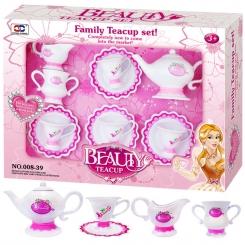 اسباب بازی ست چای خوری ژیونگ چنگ مدل Beauty Teacup Set 008-39