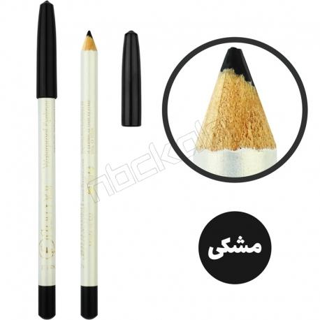 مداد ابرو و چشم فلورمار مدل مداد مشکی ضدآب شماره 101 Flormar Black Waterproof Eye Liner Pencil