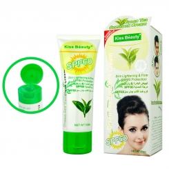 کرم ضدآفتاب کیس بیوتی چای سبز 50میل KISS BEAUTY GREEN TEA SUNBLOCK CREAM