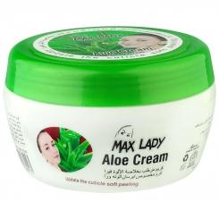 کرم آبرسان مکس لیدی با عصاره آلوئه ورا 380 میلی لیتر Max Lady Aloe Vera Hand and Body Cream