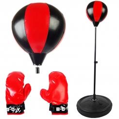 ست کیسه بوکس پایه دار اسپورت مدل 777-777. No به همراه دستکش Sport Sandbag Boxing Glove