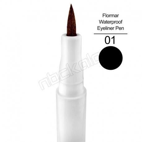 ماژیک خط چشم فلورمار ضدآب 48 ساعته Flormar Waterproof Eye Liner Pen
