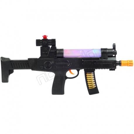 تفنگ اسباب بازی موزیکال مدل کراس جنگجو HUANG YE TOYS CROSS A WARRIOR AK-948