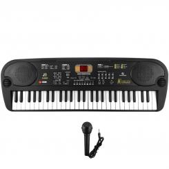 پیانو ارگ باند استند مدل 54 کلیده با میکروفون فول Bandstand 5400 Piano