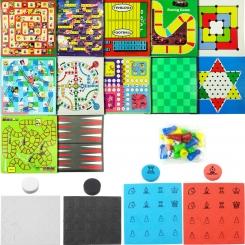 اسباب بازی فکری ست 12 بازی در یک جعبه گلدونه