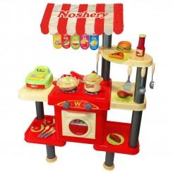 اسباب بازی فروشگاه فست فود مدل Noshery