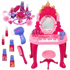اسباب بازی میز آرایش پیانودار ژیونگ چنگ مدل Dream Beauty Dresser 008-38