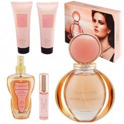 ست هدیه زنانه بولگاری گلدآ رز کارلوتا ادو تویلت و لوسیون مدل CARLOTTA ROSE GODDESS BVLGARI GOLDEA