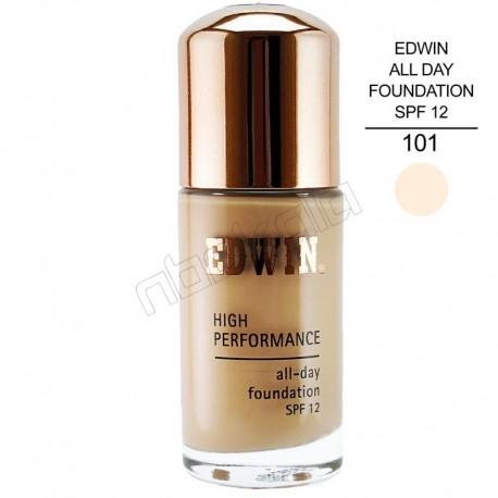 کرم پودر ادوین Edwin All Day Foundation SPF 12
