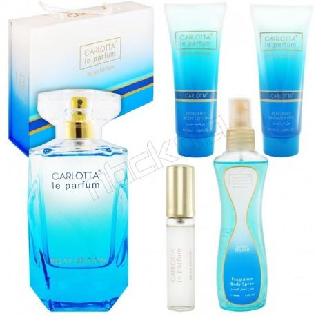 ست هدیه زنانه الی ساب لو پرفیوم کارلوتا ادو تویلت و لوسیون مدل CARLOTTA Le Parfum Elie Saab Le parfum