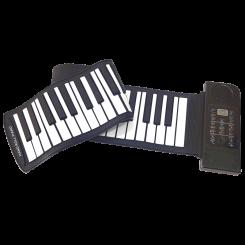 پیانو تاشو رولی 61 کلیدی حرفه ای-مدل ROLL UP PIANO-PU61S