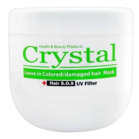 ماسک مو کریستال مناسب موهای خشک وآسیب دیده CRYSTAL 500ML