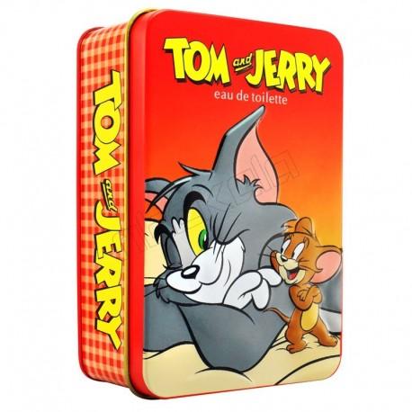 ادوتویلت تام و جری قاب فلزی کودک و نوجوان EAU DE TOILETTE TOM and JERRY