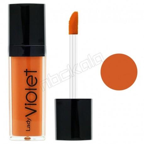رژ لب مایع ویولت شماره 01 Violet Liquid Lipstick