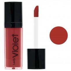 رژ لب مایع لیدی ویولت شماره 10 Lady Violet Liquid Lipstick