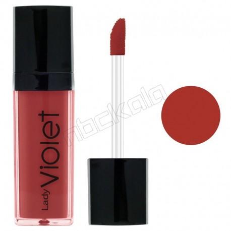 رژ لب مایع ویولت شماره 10 Violet Liquid Lipstick