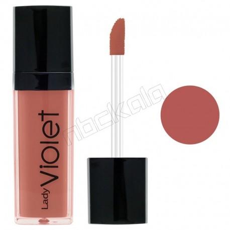 رژ لب مایع ویولت شماره 19 Violet Liquid Lipstick