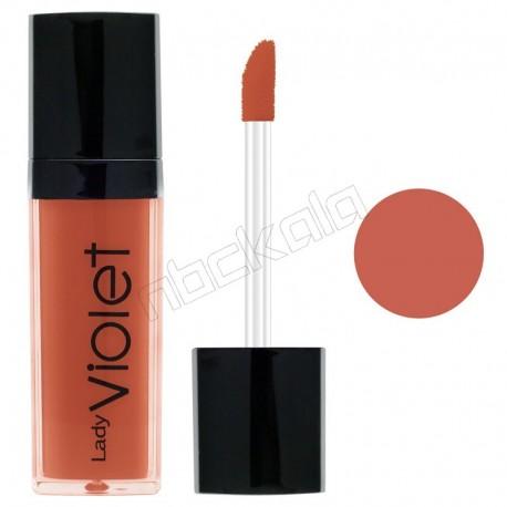 رژ لب مایع ویولت شماره 24 Violet Liquid Lipstick