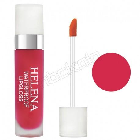 رژ لب مایع مات مخملی گیاهی 24 ساعته هلنا شماره 01 Helena Liquid Lip Gloss