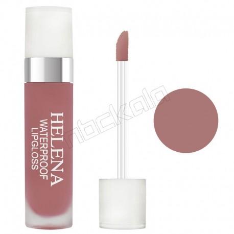رژ لب مایع هلنا براق شماره 06 Violet Liquid Lip Gloss